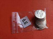 Lot 10 pièces argent 50 Francs Hercule année diverses Lot n° 37