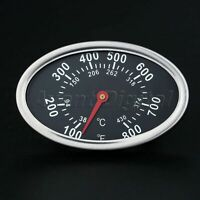 800℉ Outdoor Barbecue BBQ Smoker Charcoal Grill Thermometer Temperature Gauge