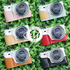 [Melten] Genuine Leather Camera Half Case For Sony Alpha A6000