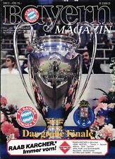 EC I - Finale 86/87 FC Bayern München - FC Porto, 27.05.1987 in Wien, Magazin