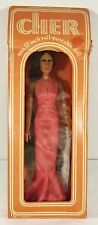 "Vintage 1970s Mego Jointed Doll in Box ~ CHER ~ 12"" Poseable w/ Styleable Hair"