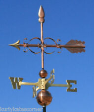 "Copper "" Fancy Arrow "" Weathervane Made In Usa #148"