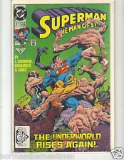 SUPERMAN THE MAN OF STEEL #17 NM - FIRST APPEARANCE OF DOOMSDAY- KEPT IN PLASTIC
