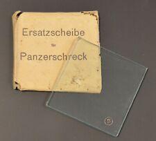 WW2 German Wehrmacht Panzerschreck Spare Glass -Ersatzscheibe für Panzerschreck