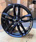 Gloss Wheels 18x8 35 5x112 Fit Audi A4 A5 A6 A7 A8 Volkswagen Golf Set Of 4