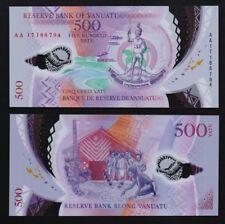Vanuatu – P#18 500 Vatu 2017 Polymer Uncirculated Banknote.