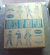 Vintage BOX for PLA-MASTER Dress Up And Play Ballerina COSTUME # 928-8770