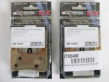 ZCOO 2 COPPIE PASTIGLIE FRENO ANTERIORE EX PER SUZUKI GSX R HAYABUSA 1300 2010