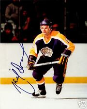 Marcel Dionne Los Angeles Kings NHL SIGNED 8x10 Photo COA!