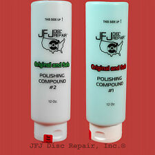 1 Blue & 1 White Advanced Polish Compound Solution 12oz JFJ Easy Pro Double