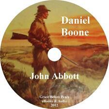 Daniel Boone, John Abbott Autobiography Audiobook unabridged English on 1 MP3 CD