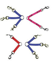 NYLON LEASH COUPLERS for DOGS - 6 Sizes & 8 Colors! NEW