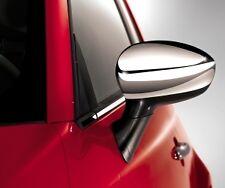 FIAT 500 GRANDE PUNTO SPECCHIO CROMATA CAPS nuovo e autentico 50901689
