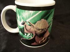 Mug cup Star Wars Yoda and Chewbacca George Lucas films characters kids favorite