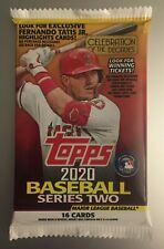 2020 TOPPS SERIES 2 Vintage Stock Parallel #/99 HOT PACK Luis Robert RC? Betts?