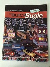 Buick Bugle Magazine First Quarterly Statement December 2000 032017NONRH