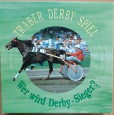 Traber Derby Spiel - Burk-Verlag - Sulky-Gespanne aus Holz