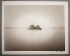 BONNIERE,16X20 SILVER GELATIN PHOTOGRAPH,S/N, MINJI LAKE ISLAND, ONTARIO, CANADA
