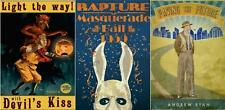 BIOSHOCK SET OF 3 POSTERS A3 SIZE RAPTURE MASQUERADE BALL VIDEO GAME BIG DADDY