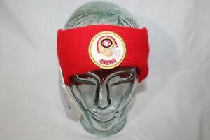 San Francisco 49ers VNTG 70s 80s Unisex Winter Knit Hat Ear Warmer Headband
