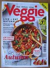 Veggie magazine November 2015 Gwyneth Paltrow Ravioli Ottolenghi Vegetarian food