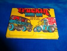1975 Donruss Truckin' Bubble Gum Trading Cards Wax Pack as pictured