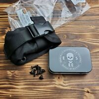 ESEE Black Accessory Pouch And Tin For ESEE 5 & 6 Hard Sheath 52-POUCH
