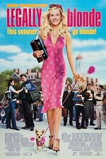 LEGALLY BLONDE (2001) ORIGINAL MOVIE POSTER  -  ROLLED