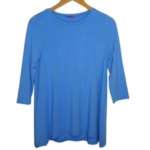 Mountain Mama's Women's Small Medium Maternity Nursing Shirt Tunic Long Slv B