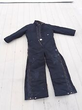Dickies Insulated Coveralls Large USED Black, with Dickies Duck Hood