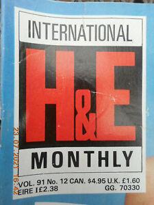 INTERNATIONAL H & E  MONTHLY  VOLUME 91  No. 12