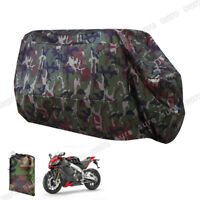 Motorcycle Motorbike Waterproof Cover Rain Protection XL Large Camouflage