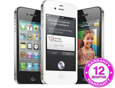 Apple iPhone 4s - 8GB 16GB 32GB 64GB - Black White (Unlocked) - Warranty - SALE