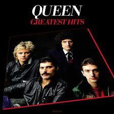 Queen GREATEST HITS 180g +MP3s BEST OF 17 ESSENTIAL SONGS New Sealed Vinyl 2 LP