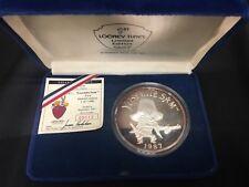 """RARE 5oz Pure Silver Coin"""" Yosemite Sam"""" Looney Tunes"""