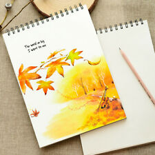 A4 Size Coil Sketch Book Drawing Practice Book Art Paper Book