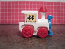 Tomy 1981 Flip Floppers Crazy Train - Animated Wind Up Toy - Works