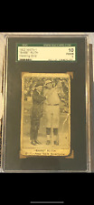 Babe Ruth 1922 W575-1 Rare Holy Grail Baseball Card Only 5 Known To Exist Graded