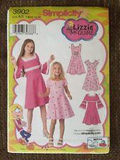 Simplicity Lizzie McGuire Pattern 3902 Kids Halloween Costume K5 Disney Uncut
