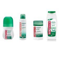 BOROTALCO ROBERTS Original deo test paket Schaumbad set roll-on spray stick