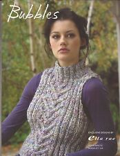 Ella Rae Booklet 104- Gorgeous Patterns For Knitting!