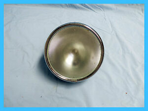 """MILLER REPLICA 8"""" HEADLIGHT ASSY WITH FLAT FROSTED GLASS FOR THAT VINTAGE LOOK"""