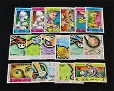 nystamps British Qatar Stamp # 267/310 Mint Og H/Nh $54 J15y3228