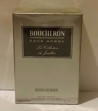 Boucheron Pour Homme La Collection Du Joaillier 3.3oz / 100 ml EDT Spray SEALED