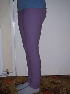 "Girls Horse Riding Jodhpurs Micro Cord Stretch size 24"" Purple - was £34.00"