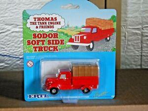 Thomas the Tank Engine & Friends SODOR SOFT SIDE TRUCK Diecast (952)