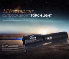Nuevo más potente 40000lm XM-L Torch taclight Lenser Flashlight LED sos linterna