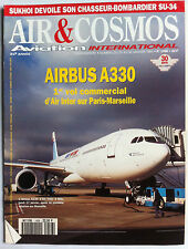 AIR & COSMOS du 24/1/1994; Chasseur Bombardier Su-34/ Airbus A 330/ Biplace R216