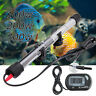 100/200/300W Aquarium Submersible Water Heater Rod Fish Tank w LCD Thermometer