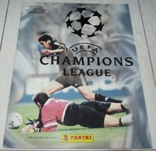 ALBUM PANINI UEFA CHAMPIONS LEAGUE 2000-2001 FOOTBALL COMPLET COMPLETE